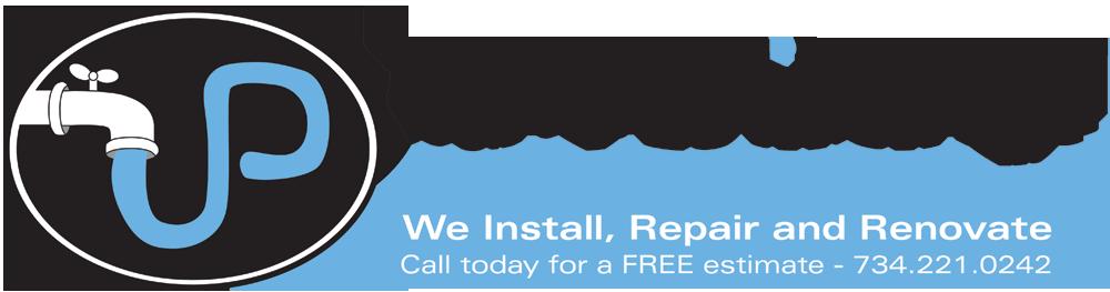 Call J and P Plumbing! Logo